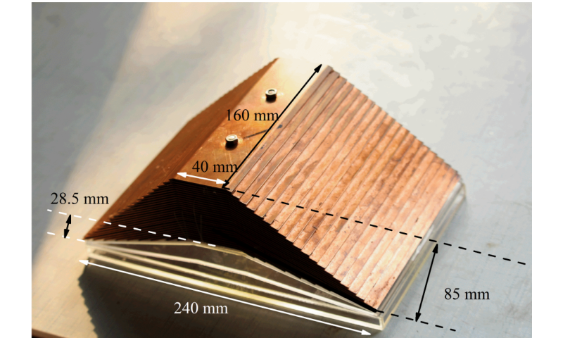First underwater carpet cloak realized, with metamaterial