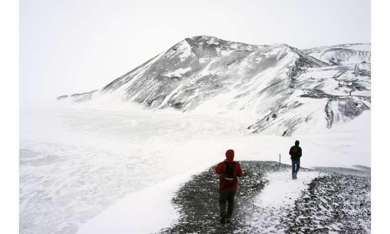 Flat Antarctica