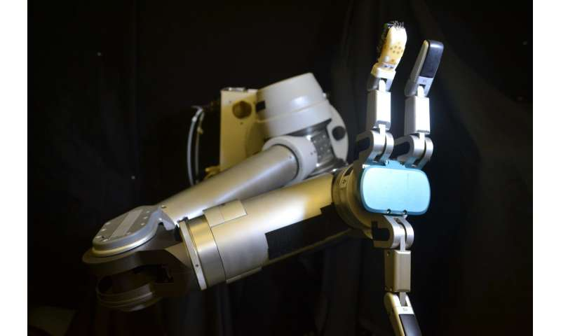 Flexible 'skin' can help robots, prosthetics perform everyday tasks by sensing shear force