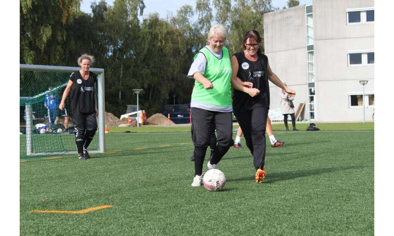 Football is medicine for women with high blood pressure