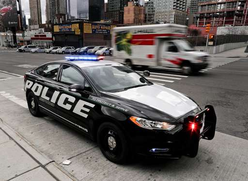 Ford says hybrid police car catches bad guys, saves gas too