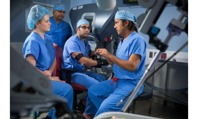 For surgeons in the OR, a way to fight bad posture