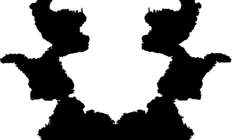 Fractal edges shown to be key to imagery seen in Rorschach inkblots