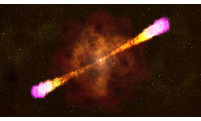 Gamma-ray burst captured in unprecedented detail