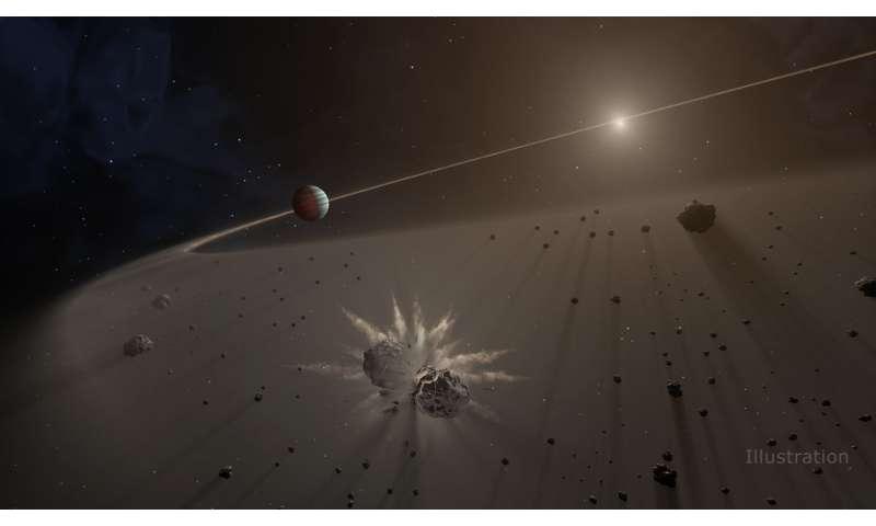 Giant exoplanet hunters: Look for debris disks