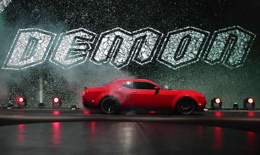 Giddy Up! Automakers raise horsepower, speed to new heights