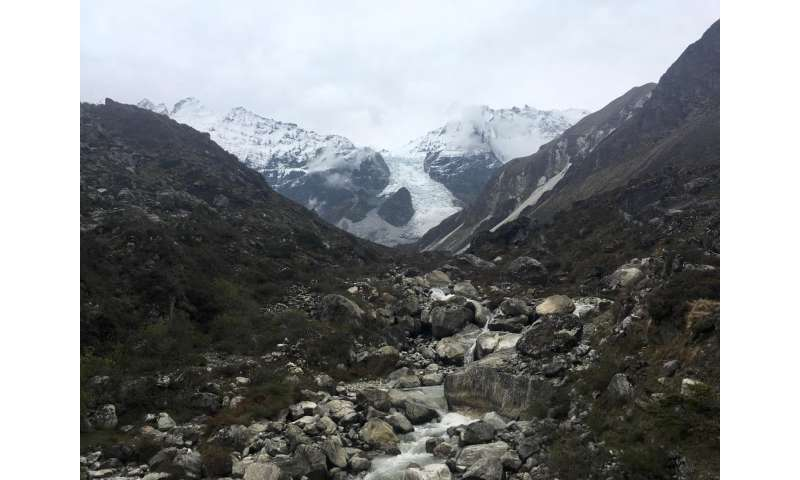 Glaciers may have helped warm Earth