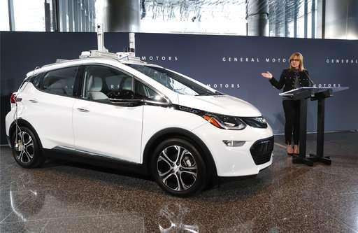 GM raises output of self-driving Bolts, boosts test fleet