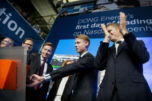 Green energy giant Dong's stock listing in June 2016 was one of Europe's biggest IPOs last year