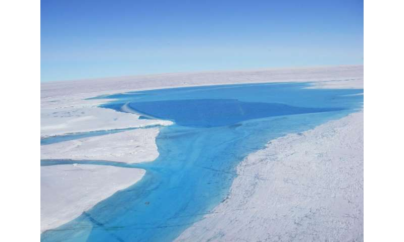 Greenland ice flow likely to speed up: New data assert glaciers move over sediment, which gets more slippery as it gets wetter