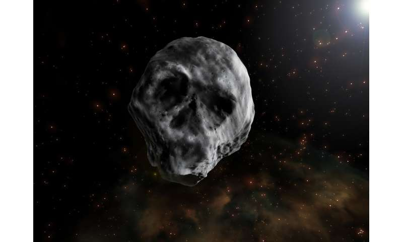 Image result for halloween comet asteroid