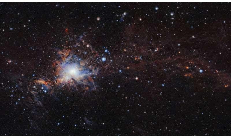 Hidden secrets of Orion's clouds