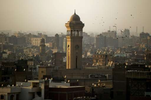 High-decible city Cairo, whose skyline is seen in 2013, ranked among the cities where hearing was most degraded