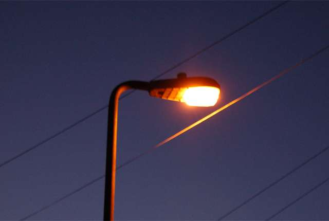 Higher concentrations of streetlights do not guarantee safety