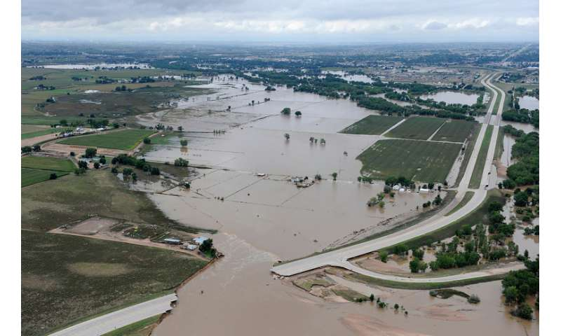 'Hindcasting' study investigates the extreme 2013 Colorado flood