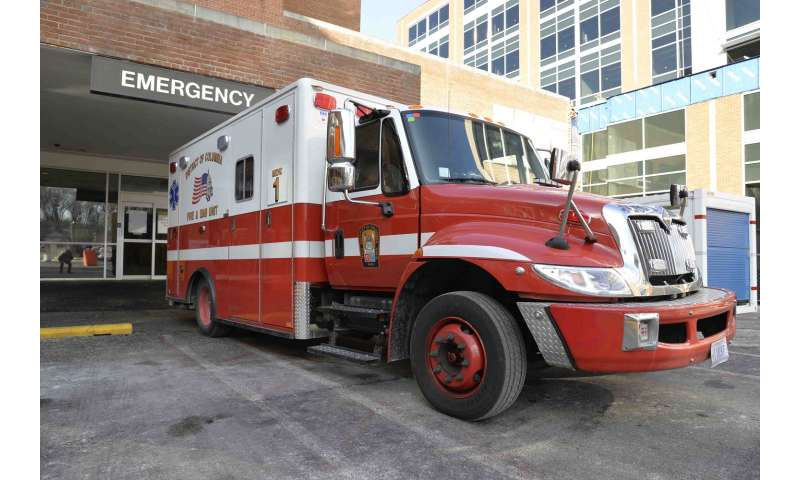 Hold the phone: An ambulance might lower your chances of surviving some injuries