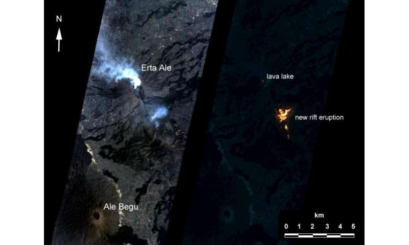 How A.I. captured a volcano's changing lava lake