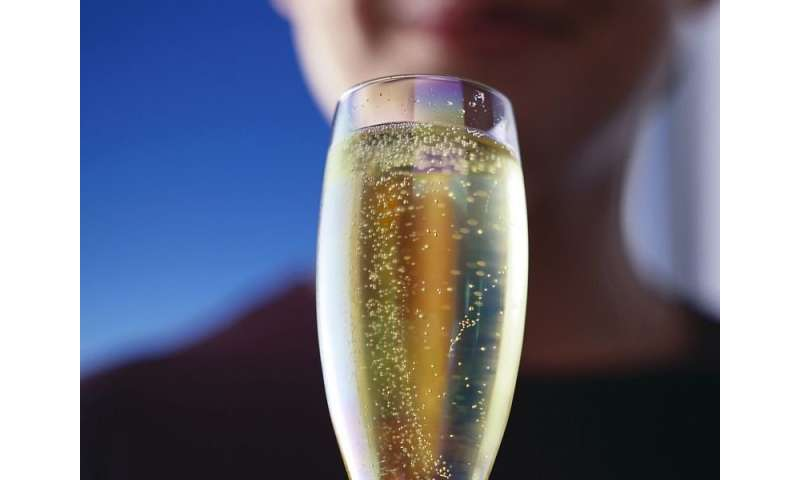 How good is your new year's bubbly? listen closely