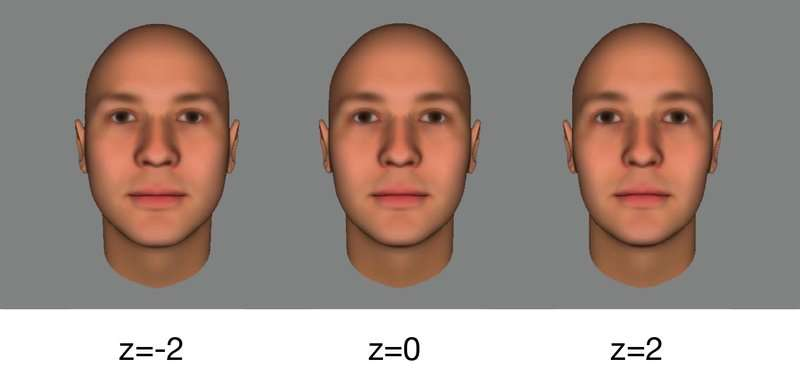 How the unconscious mind picks out faces in a crowd