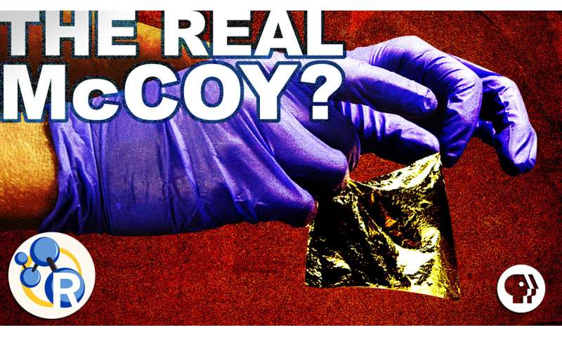 How to spot fake metals with acids (video)