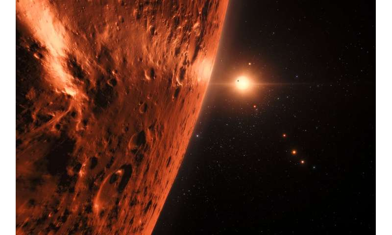 Hubble delivers first hints of possible water content of TRAPPIST-1 planets