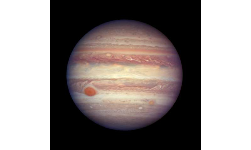 Hubble takes close-up portrait of Jupiter