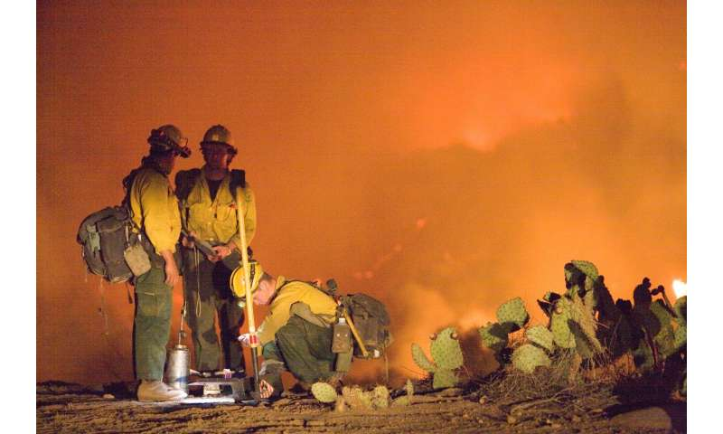 Humans responsible for more wildfires than lightning, longer season and larger fire niche
