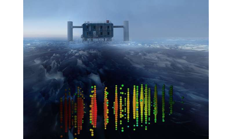 IceCube experiment finds Earth can block high-energy particles from nuclear reactions