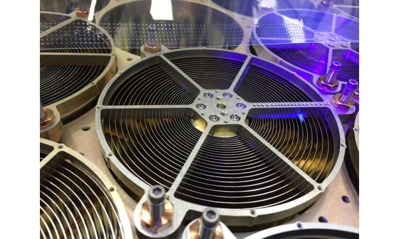 Image: Close-up view of neutron star mission's X-ray concentrator optics