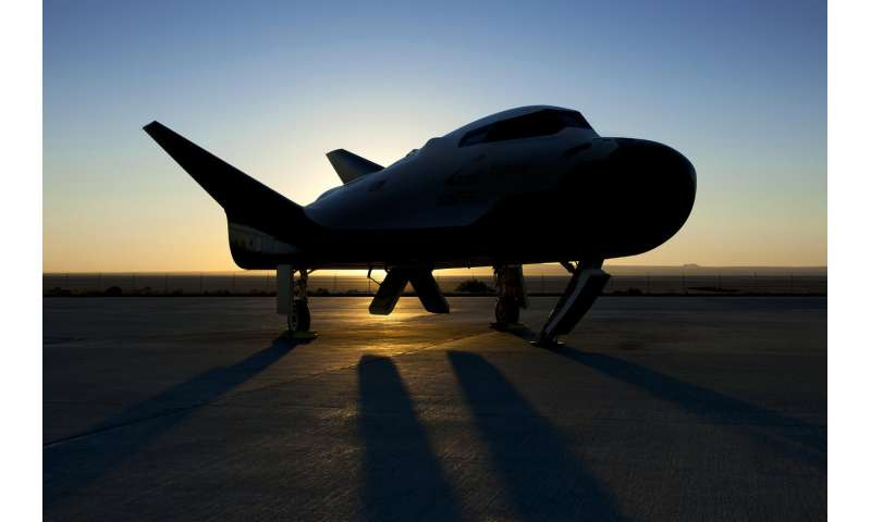 Image: Dream Chaser at dawn