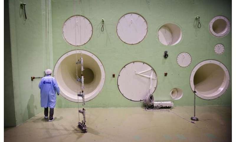 Image: ESA'sLarge European Acoustic Facility