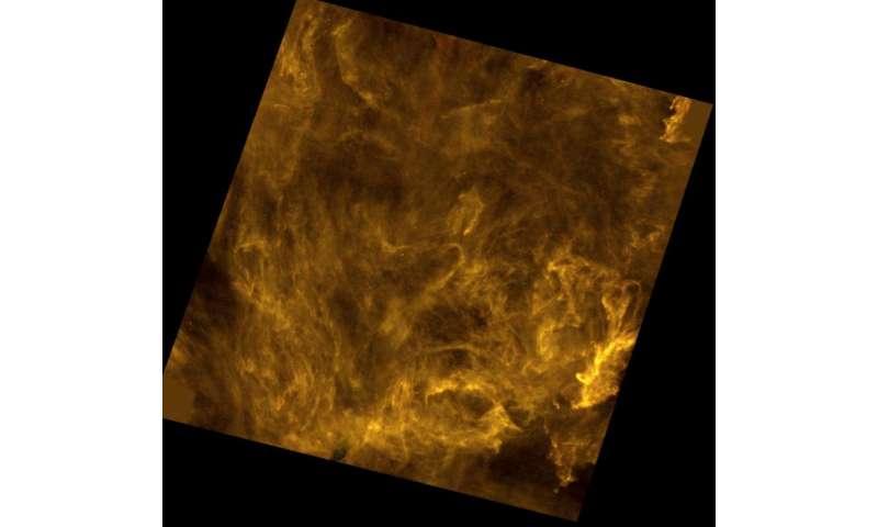 Image: Interstellar filaments in Polaris