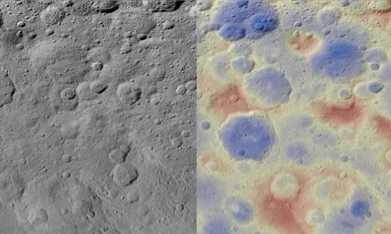 Image: Kwanzaa tholus on Ceres