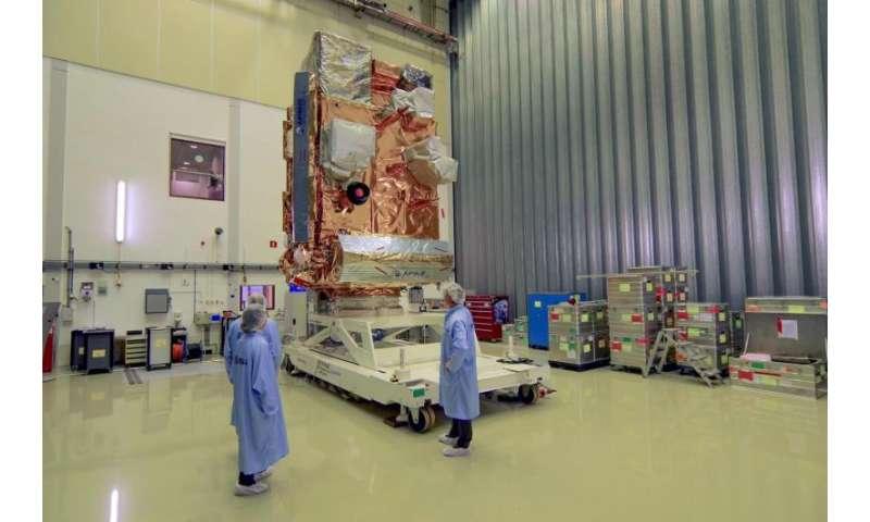 Image: MetOp-C payload module