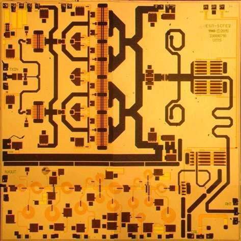 Image: Mini-radar chip