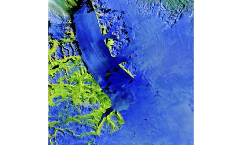 Image: Petermann Glacier, Greenland