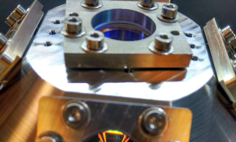 Image: Prototype atom interferometer