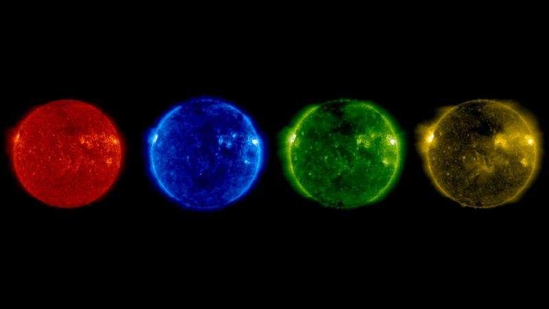 Image: SOHO's summer solstice sun