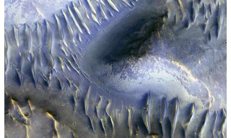 Image: The splitting of the dunes