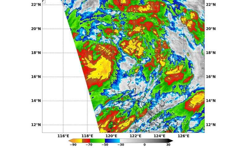 Image: Tropical Storm Khanun (South China Sea)