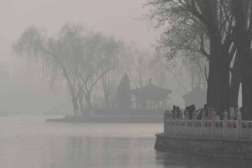In Beijing and the surrounding area, the proportion of 'good air' days in the first half of 2017 dropped 7.1 percentage points f