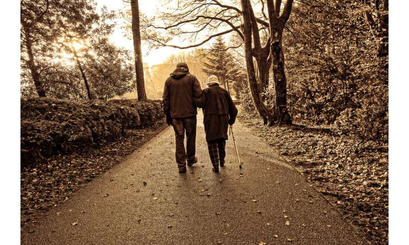 Increased physical fitness may offset cognitive deterioration in dementia