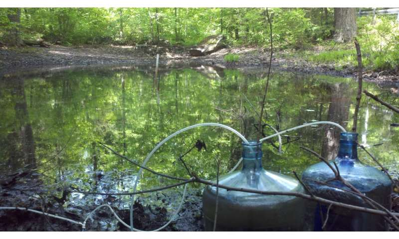 In measuring gas exchange between water and air, size matters