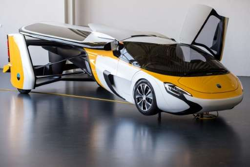 In Slovakia, the AeroMobil company says it has received dozens of orders from customers for a flying cars such as this one, whic