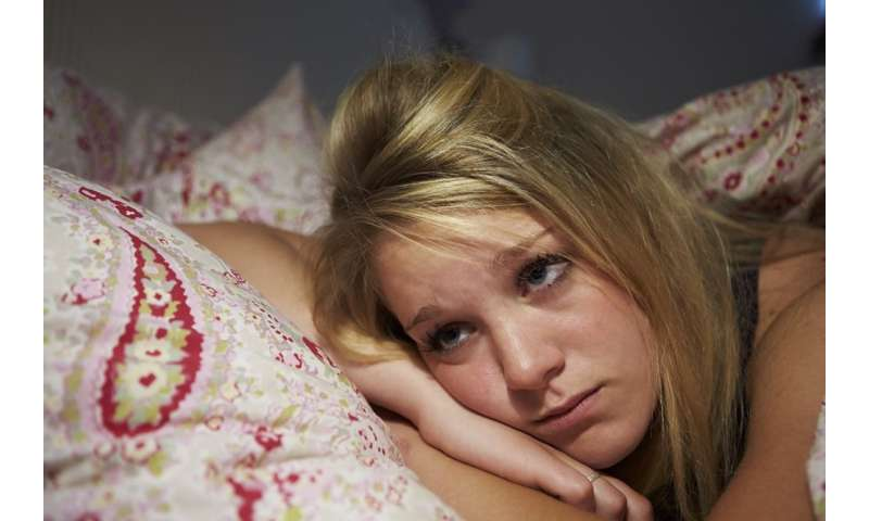 Insomnia linked to alcohol-use frequency among early adolescents, says new psychology study