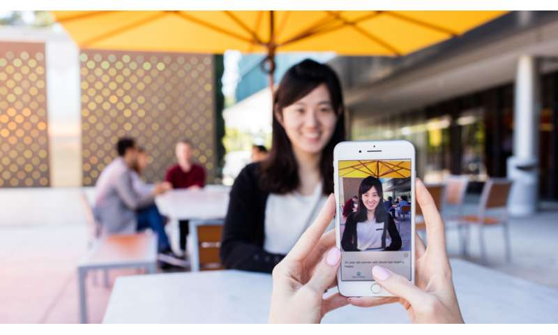 Intelligent camera app from Microsoft useful for people with visual impairment