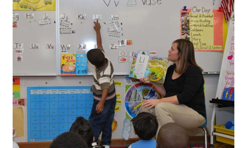 Intentional teaching makes the biggest impact on early childhood outcomes