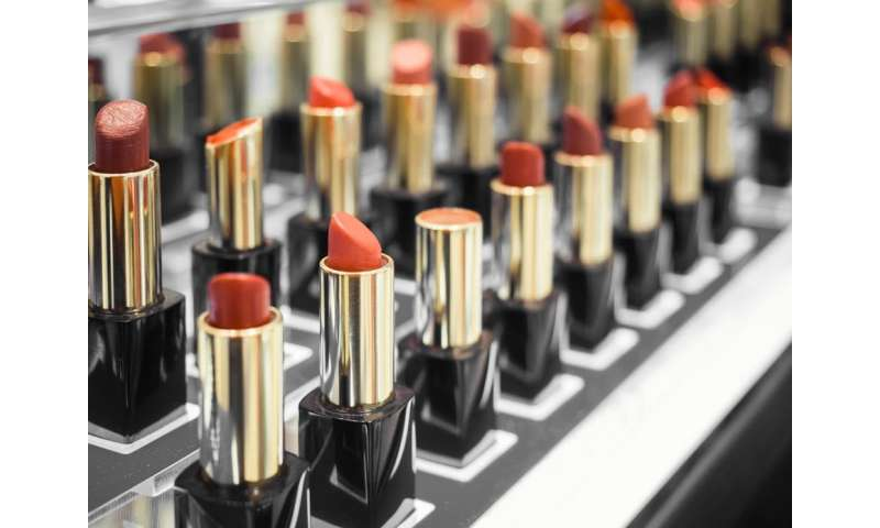 Is it safe to use makeup testers in cosmetics stores?