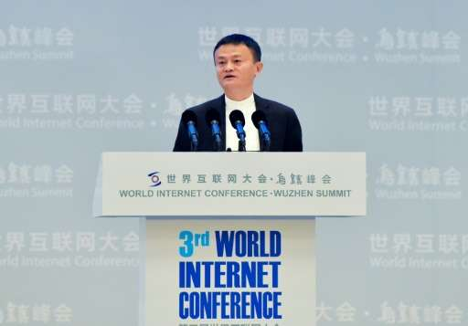 Jack Ma, chairman of Alibaba—his e-commerce company took $17.8 billion in revenue on a single day of promotions last year