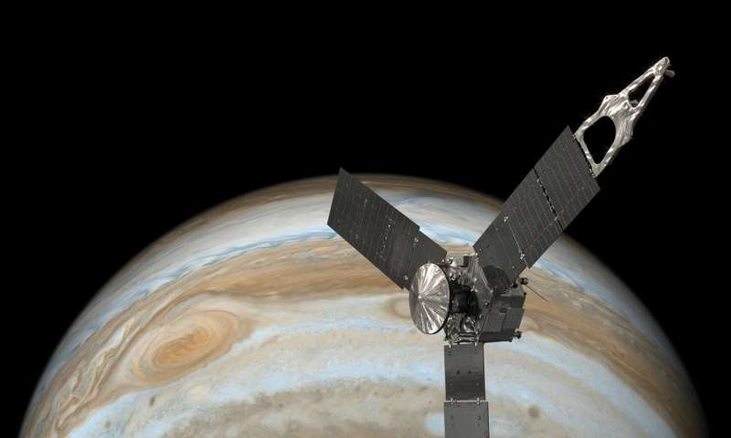 Juno aces eighth science pass of Jupiter